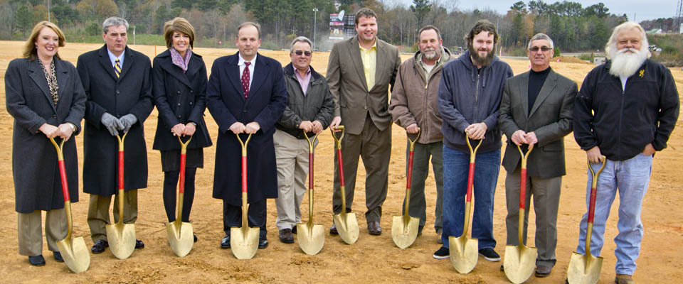 Ground Breaking at Wilco Hess Travel Center 2013
