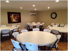 community center dining area