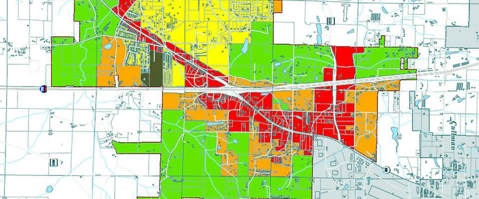 Cropped Zoning Map of Good Hope